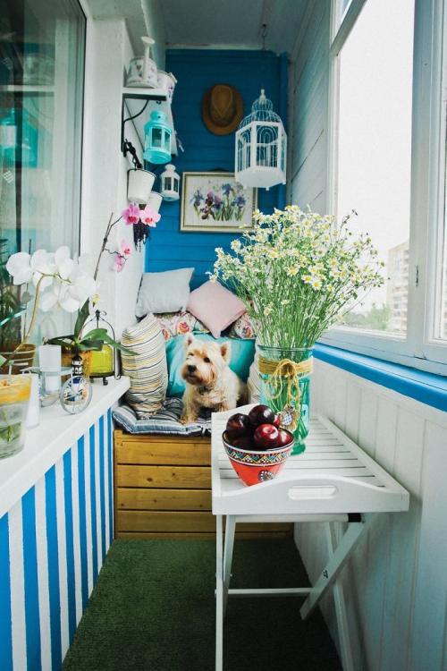 comment aménager un balcon style bord de mer