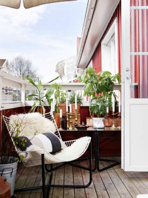 comment aménager un balcon tente sur la terrasse