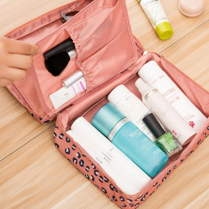 comment ranger sa valise cosmétique