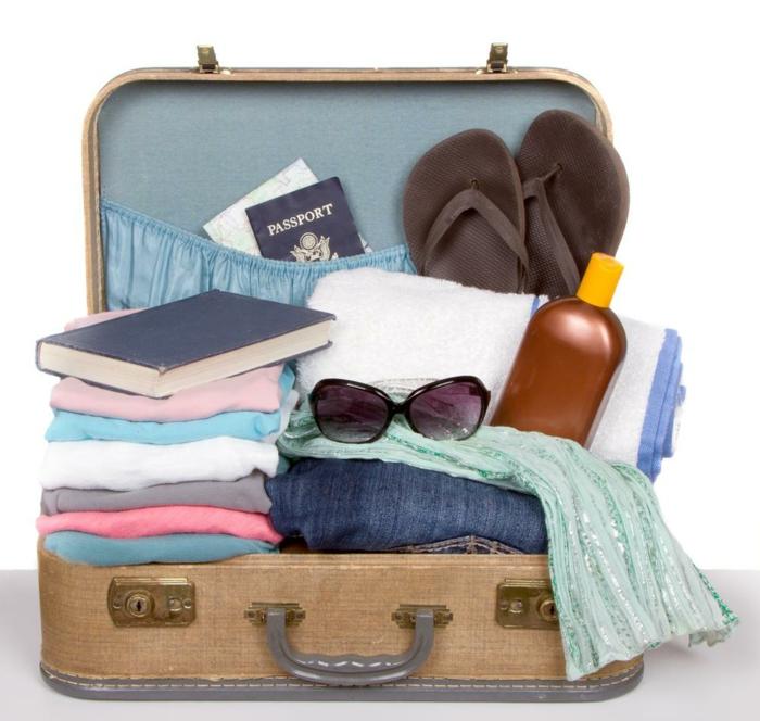 comment ranger sa valise idée