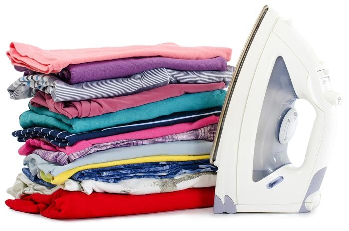 conseils repassage symboles lavage vêtements