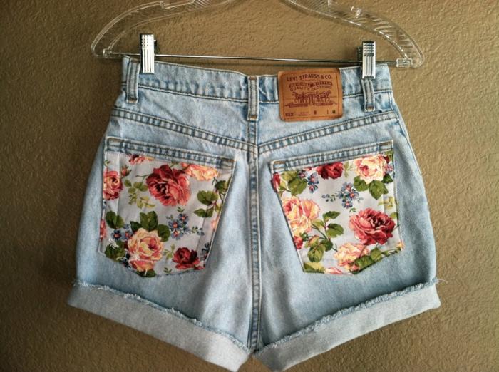 customiser un jean déco poches