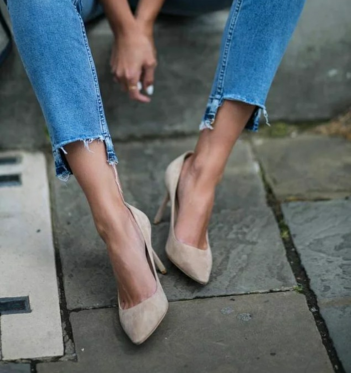 customiser un jean idée facile