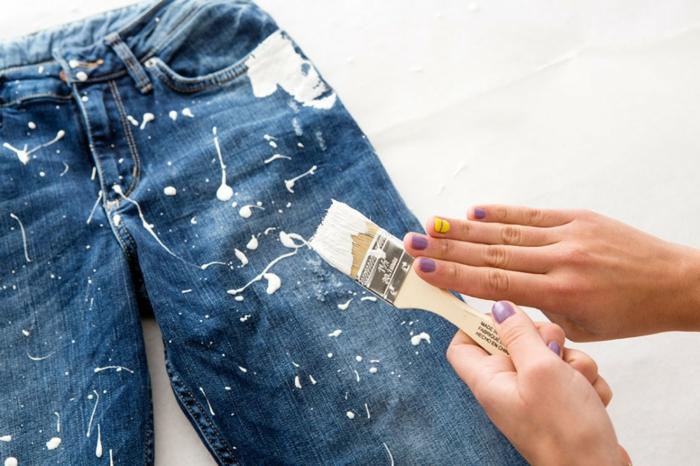 customiser un jean idée