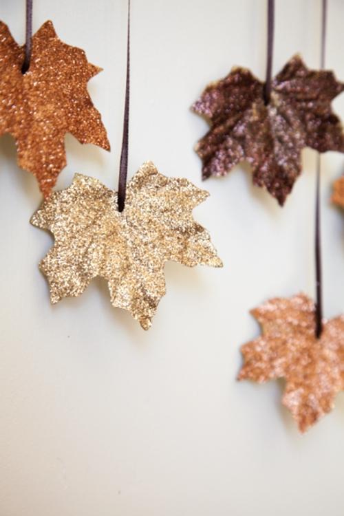déco automne à faire soi-même feuilles d' automne