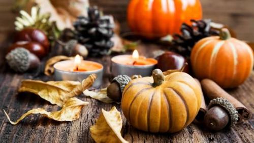 déco automne à faire soi-même table d' automne