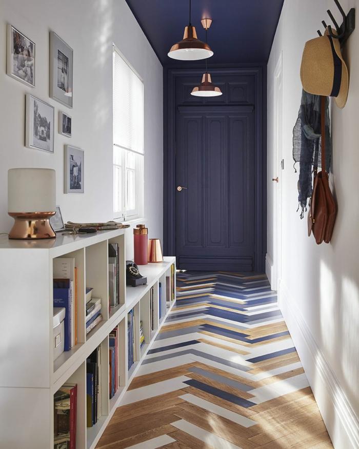 d co couloir troit id es pour valoriser le petit espace. Black Bedroom Furniture Sets. Home Design Ideas