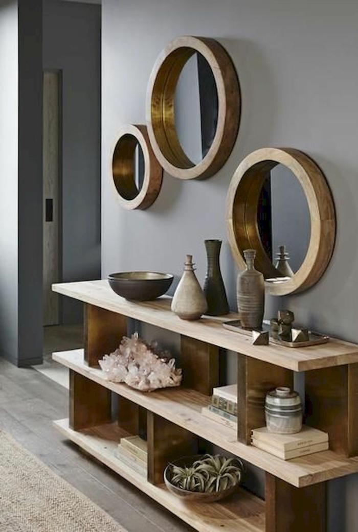 déco couloir étroit déco miroirs