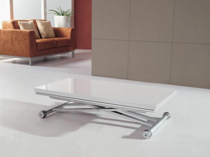 déco maison avec une table basse relevable extensible