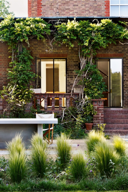 déco patio terrasse en briques