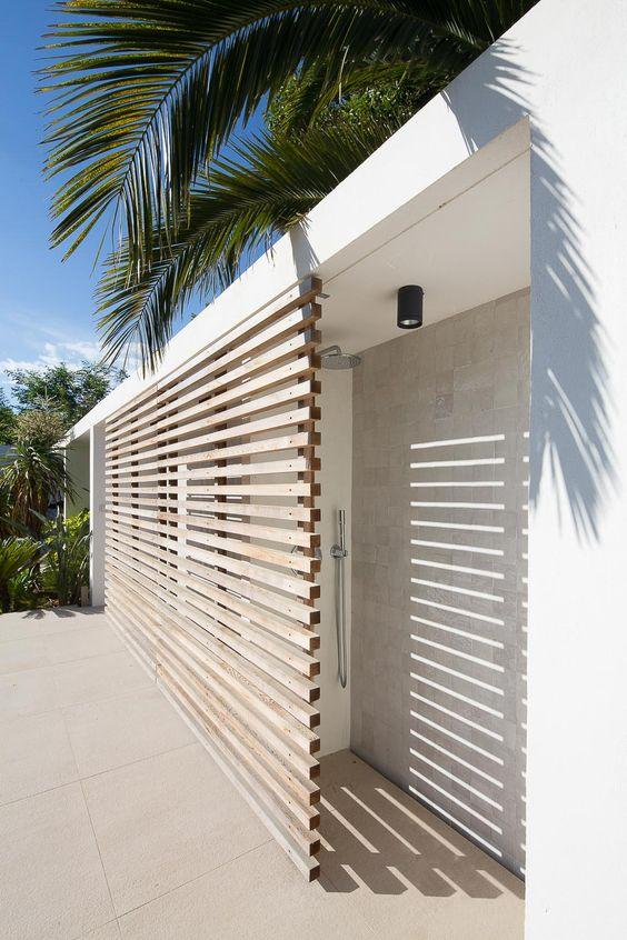 déco pour mur extérieur maison contemporaine