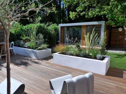 déco salon jardin style moderne