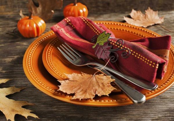 déco table idée déco automne à faire soi-même
