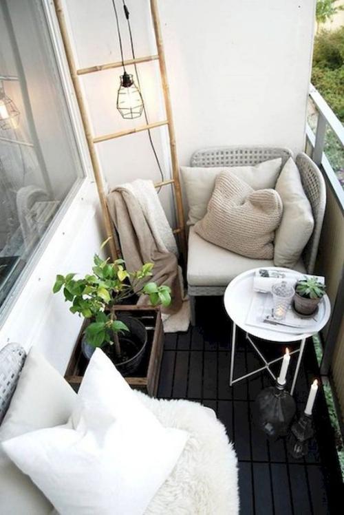 décoration balcon petit espace