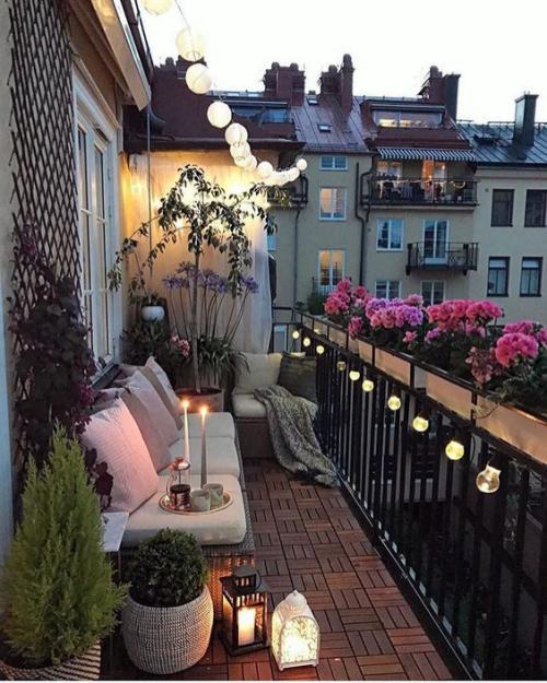 décoration balcon terrasse découverte