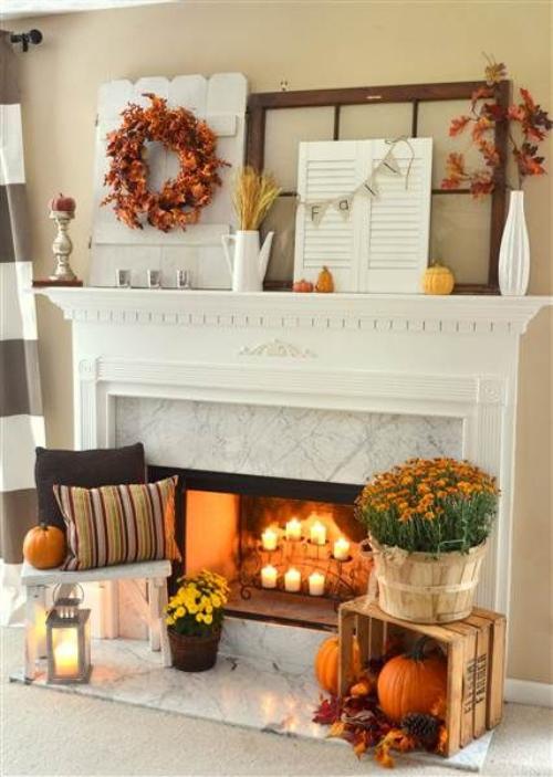 décoration citrouille beau salonautomnal