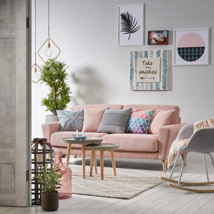 décoration idées pour aménager un petit salon