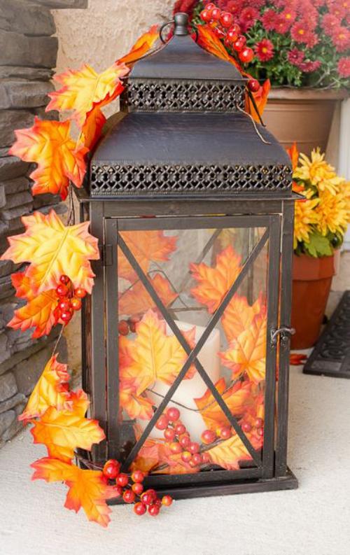 décoration jardinière extérieure joli accessoire en fer