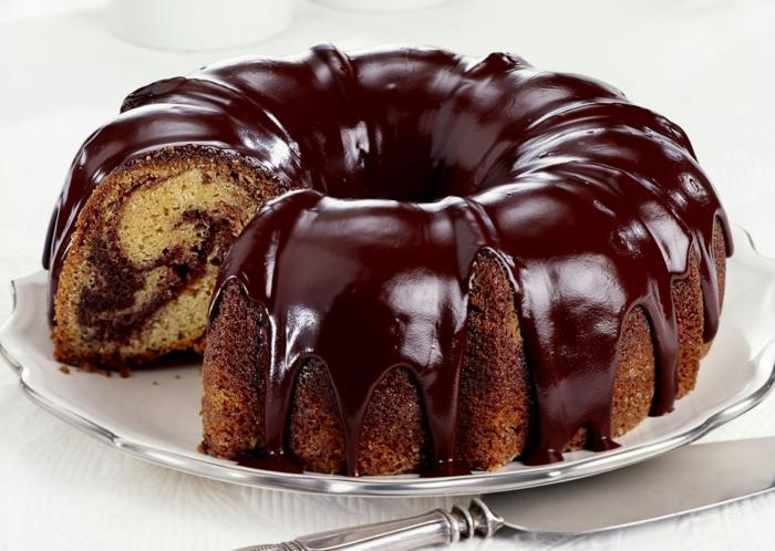 délicieux gâteau marbré