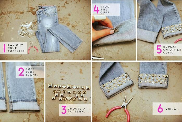diy customiser un jean