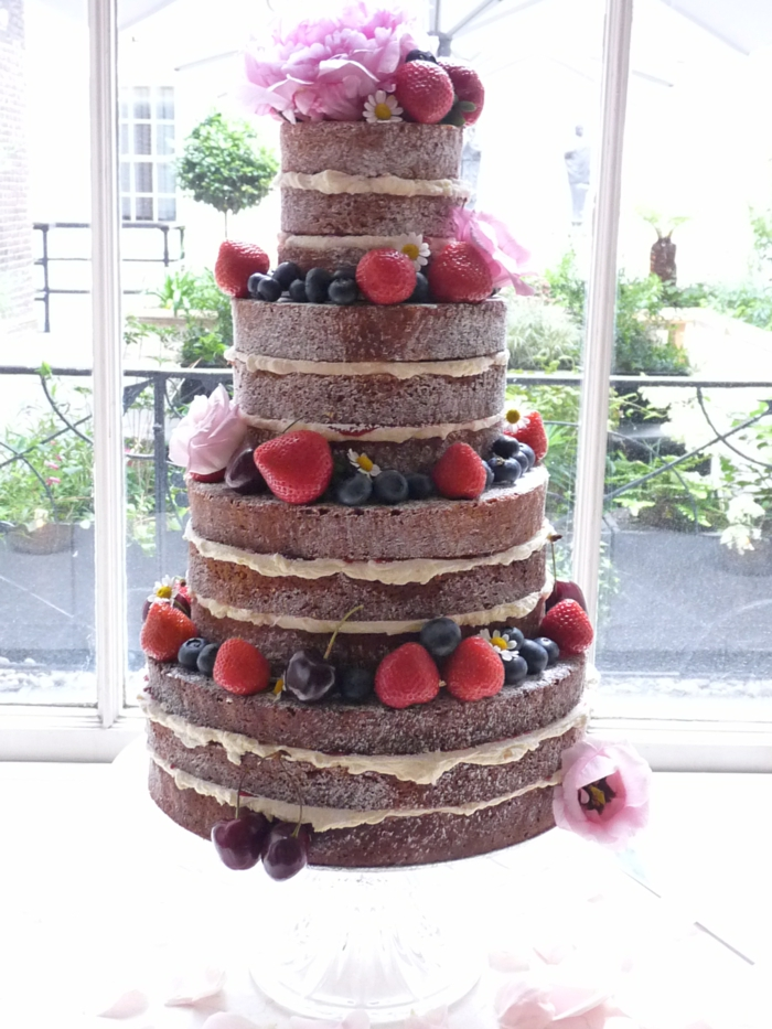 diy gâteau anniversaire naked cake