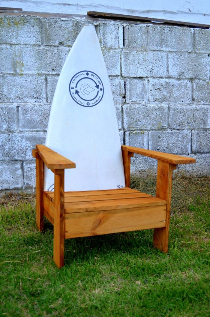 diy meuble de surf déco planche de surf