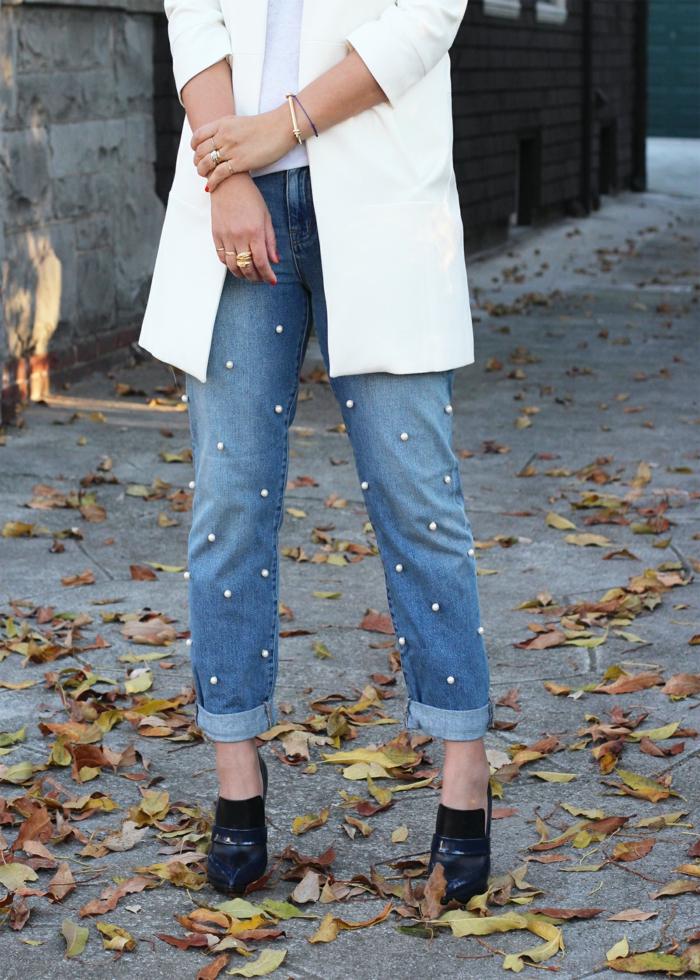 diy projet customiser un jean