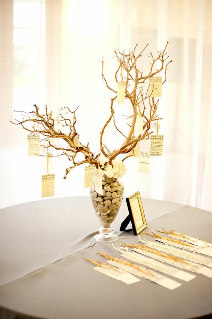 arbre voeux id es d co de mariage qui font r ver. Black Bedroom Furniture Sets. Home Design Ideas