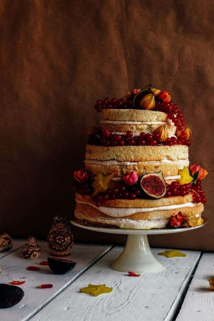 diy un gâteau anniversaire nu
