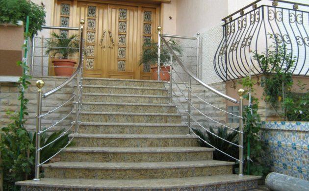 rampe d'escalier