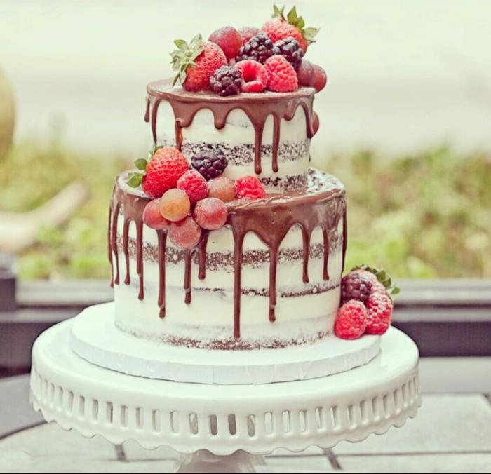 gâteau anniversaire au chocolat idée