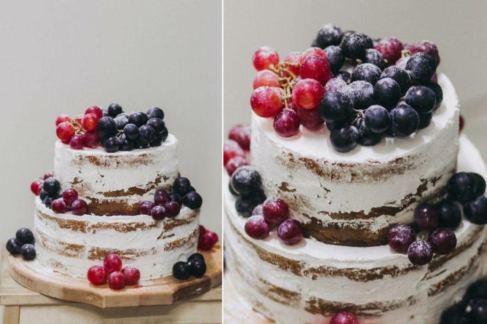 gâteau anniversaire nu très en vogue