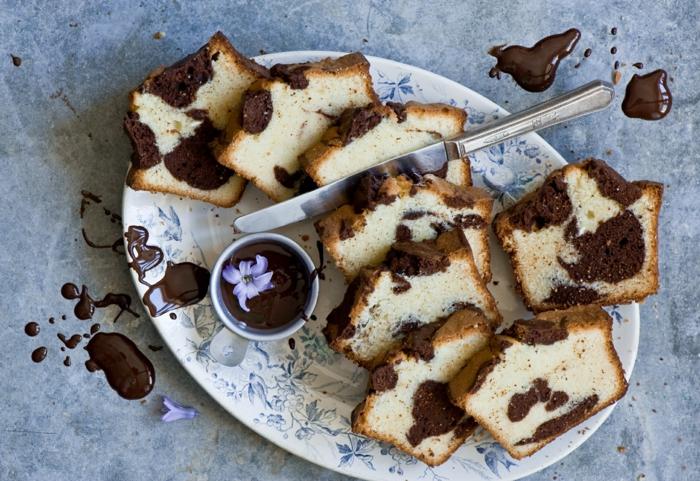 gâteau marbré idée comment consommer