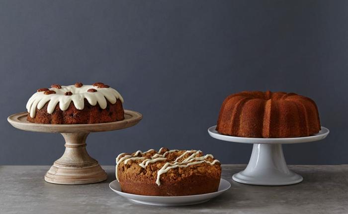 gâteau marbré idées de déco