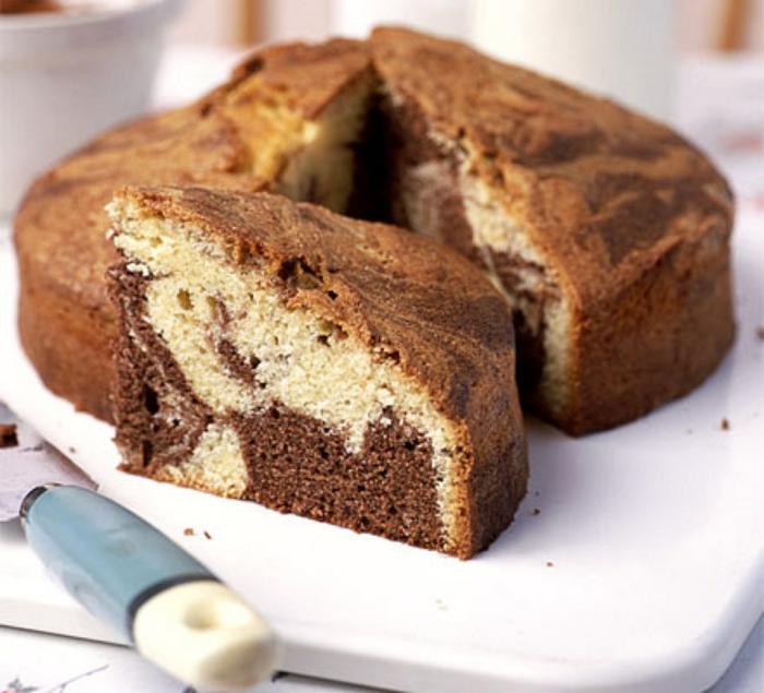 gâteau marbré recettes