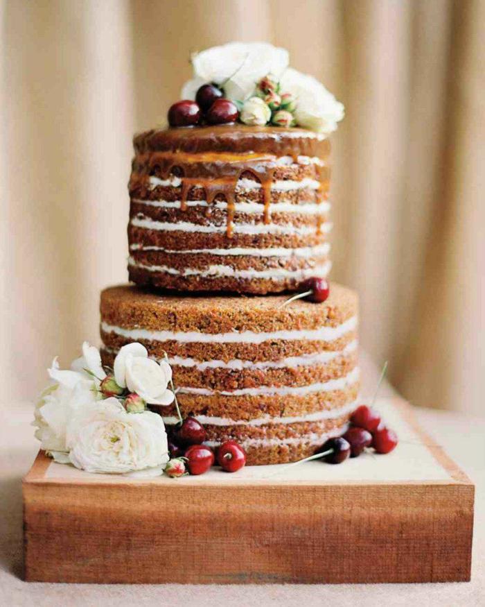gâteau nu idée gâteau anniversaire