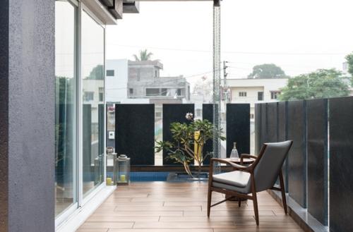 idée barrière balcon terrasse moderne