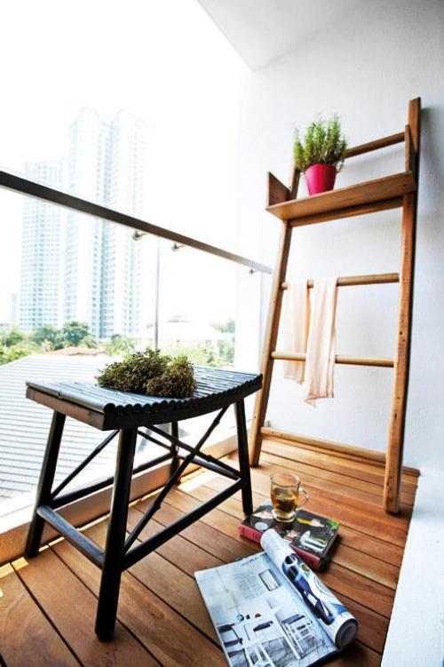 idée barrière balcon