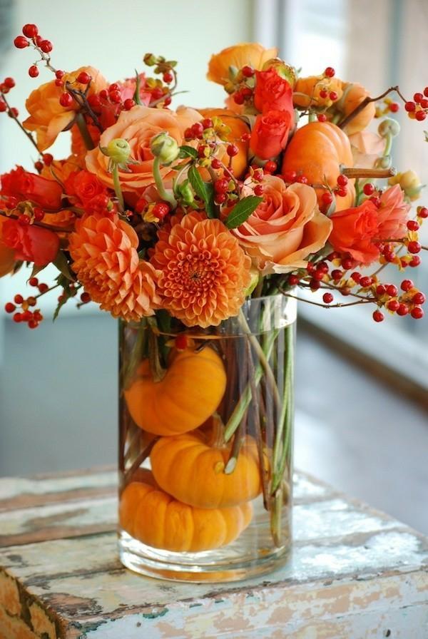 idée déco automne à faire soi-même décoration de table