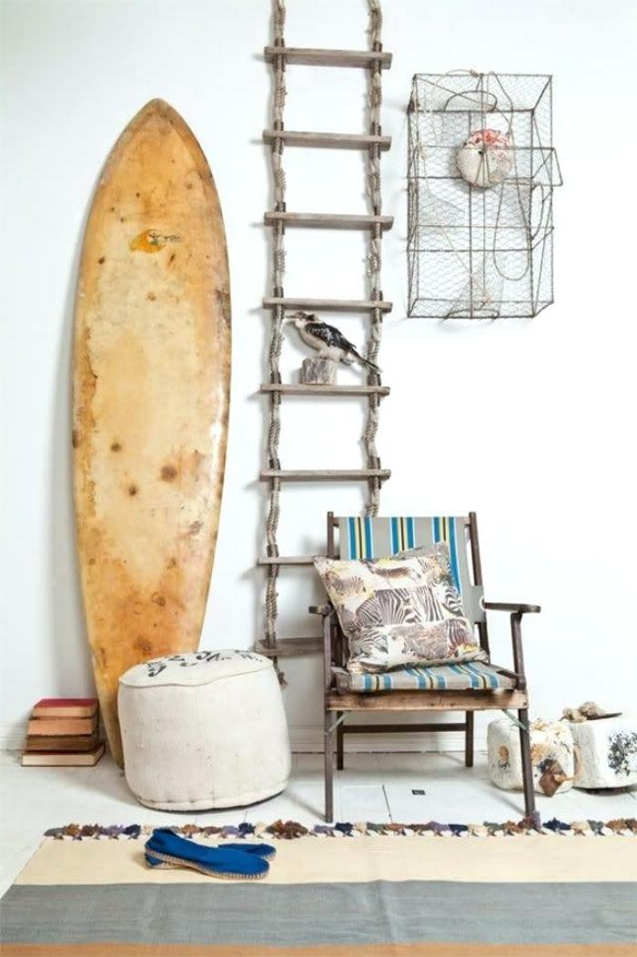 idée déco planche de surf