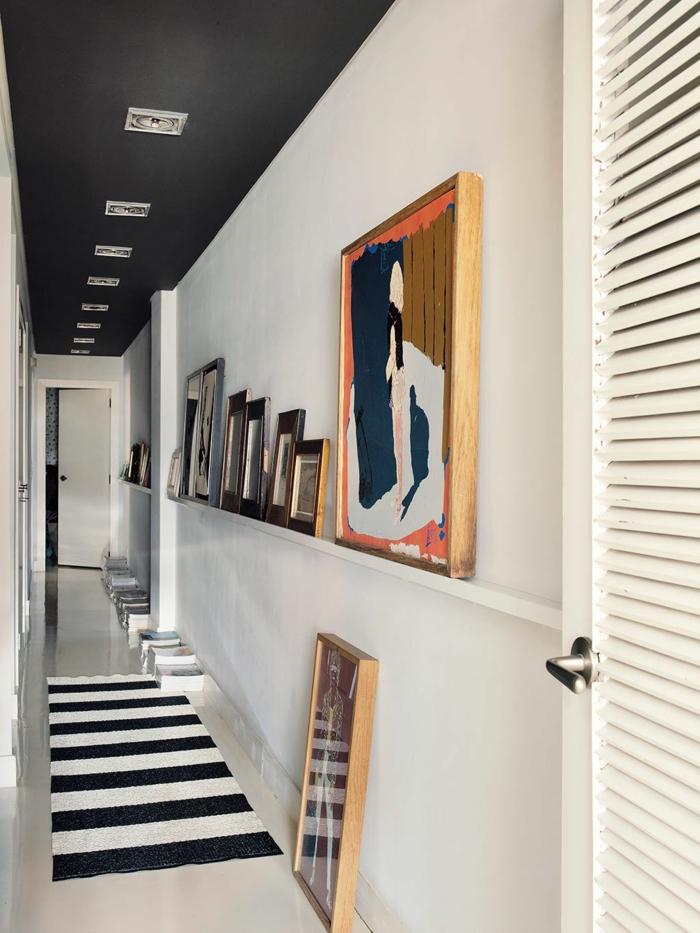 Déco couloir étroit : idées pour valoriser le petit espace