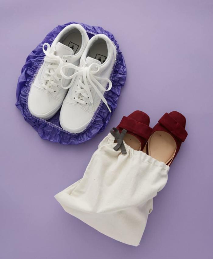 idée pour vos chaussures comment ranger sa valise