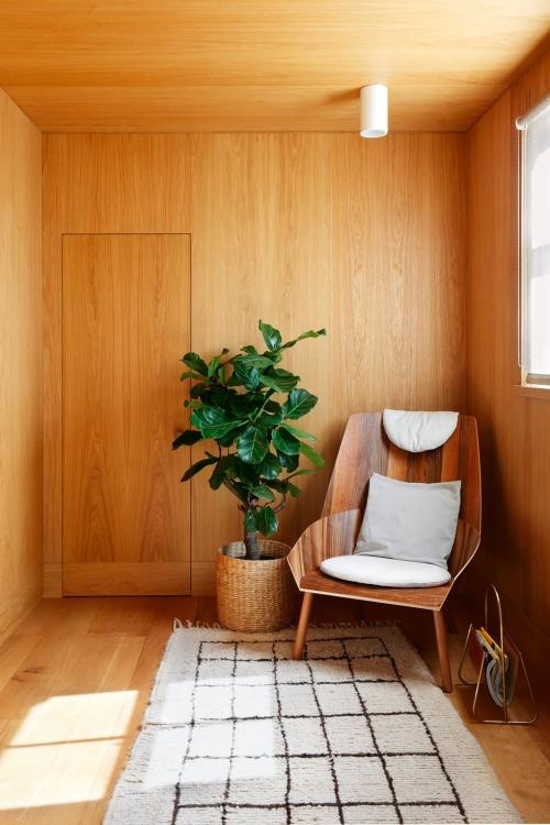 idées déco entrée petit espace en bois