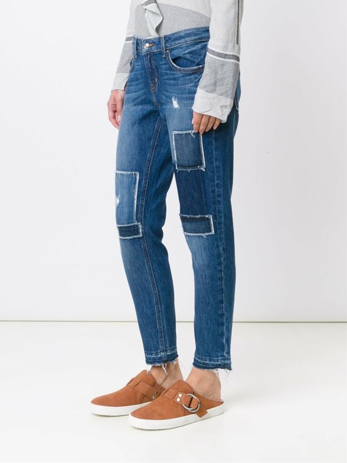 idées pour customiser un jean