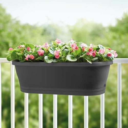 jardinière balcon un garde-corps embelli