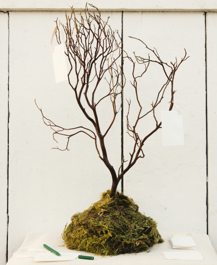 mariage arbre à voeux