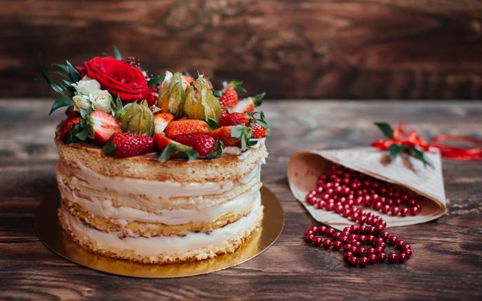mini gâteau anniversaire naked