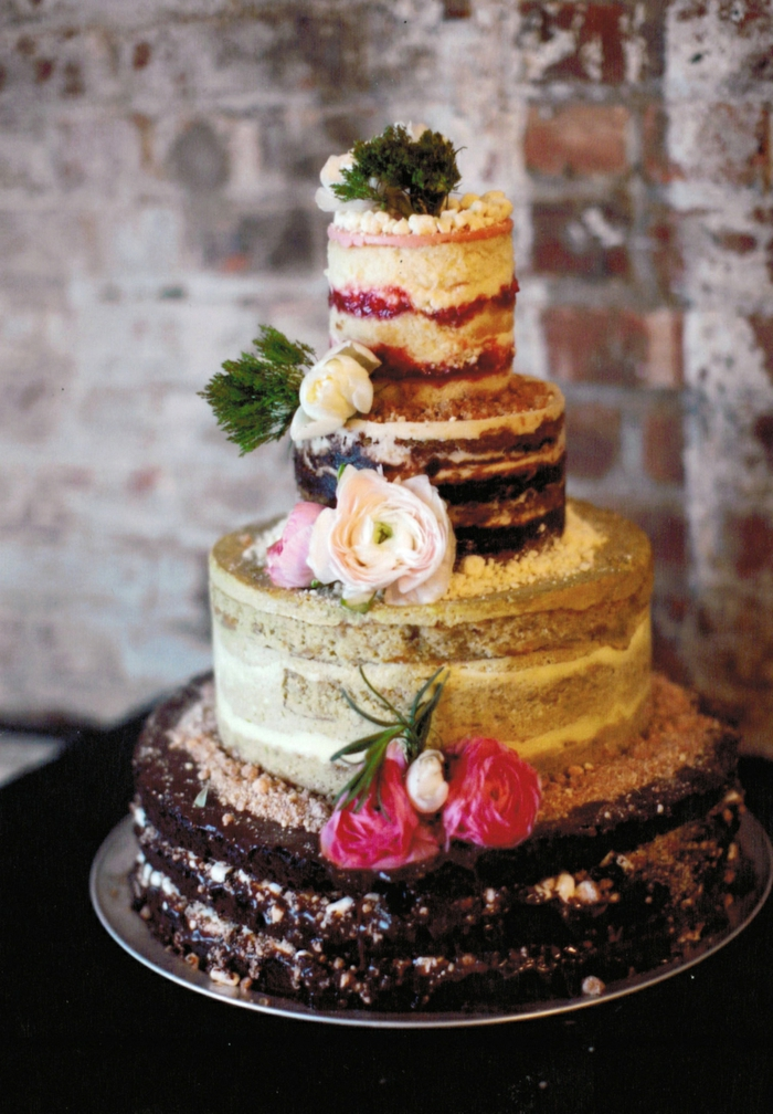 naked cake gâteau anniversaire