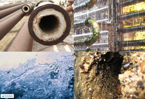 nettoyage des tuyaux qualité de l'eau