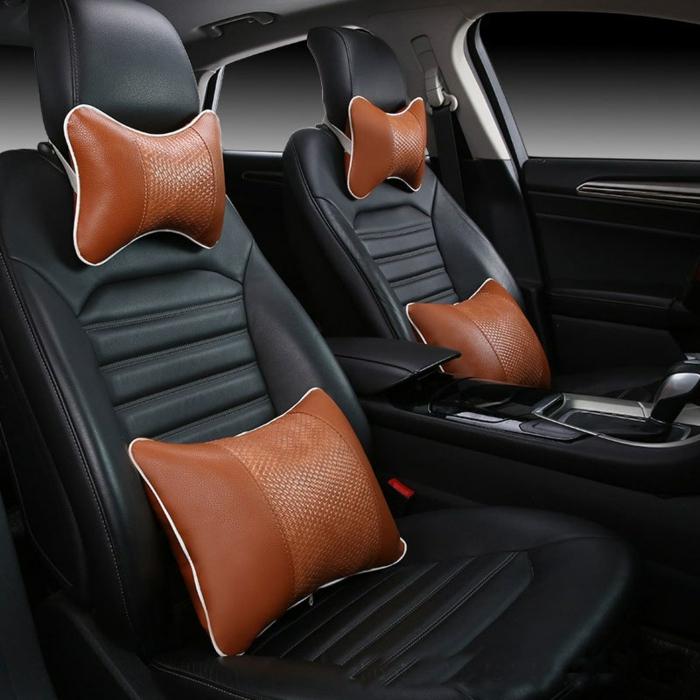 nettoyer des sièges de voiture en cuir